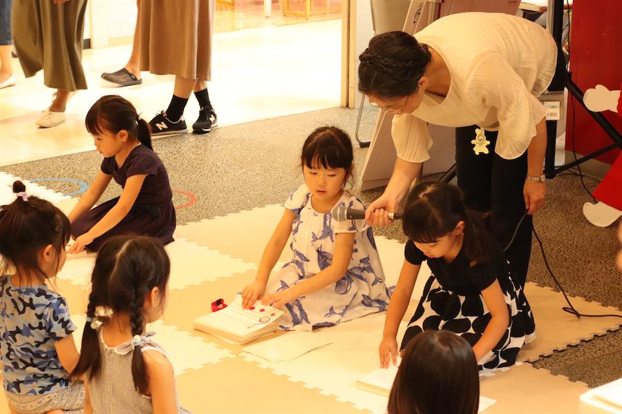 川崎紫明音符ビッツ体験ステージ