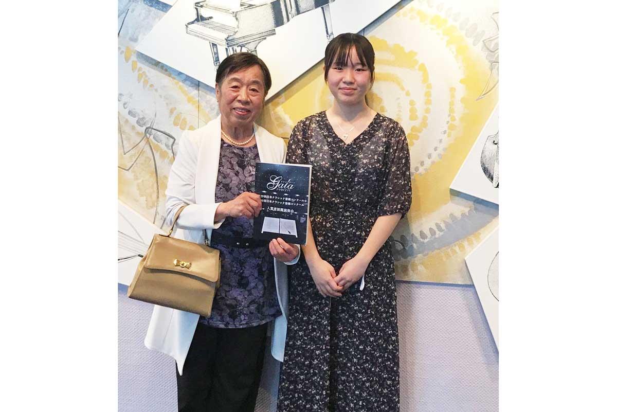 紫明先生とリーナちゃん